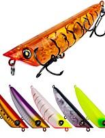abordables -6 pcs pcs leurres de pêche Poissons nageur / Leurre dur Plastique Extérieur Pêche d'appât / Pêche au leurre / Pêche générale