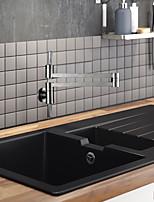 cheap -Kitchen faucet Nickel Brushed Pot Filler Centerset