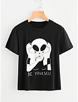 economico -T-shirt Per donna Essenziale Teschi / Ritratto