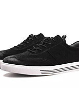 cheap -Men's PU(Polyurethane) Summer Comfort Sneakers Black / Gray / Khaki