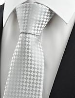 cheap -Men's Party / Work Necktie - Houndstooth