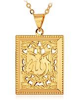 preiswerte -Herrn Lang Anhängerketten - Modisch Gold, Silber 55 cm Modische Halsketten 1pc Für Geschenk, Alltag