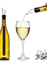 economico -Versatori vino Gel di Silice / Acciaio inossidabile, Vino Accessori Alta qualità Creativo for Bicchieri Facile da usare / Novità creativa