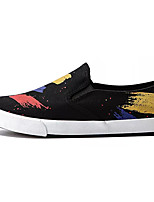 cheap -Men's Shoes Canvas Summer Light Soles Loafers & Slip-Ons Black / Dark Blue / Red