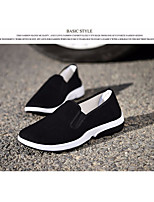 cheap -Men's Shoes Canvas Summer Comfort Loafers & Slip-Ons Black