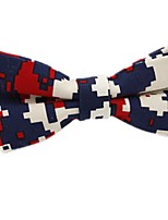 cheap -Men's Party / Basic Cotton / Polyester Bow Tie - Color Block Bow / All Seasons