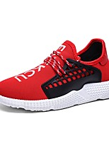 cheap -Men's Shoes Mesh Spring / Fall Comfort / Light Soles Sneakers Black / Red