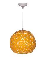 Недорогие -QIHengZhaoMing Подвесные лампы Рассеянное освещение 110-120Вольт / 220-240Вольт, Теплый белый, Лампочки включены