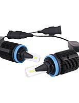 abordables -2pcs H9 / H11 / H8 Automatique Ampoules électriques 40 W LED Intégrée 8000 lm 24 LED Feu Antibrouillard For Mazda / Hyundai / Honda Mazda3 / Z4 / CR-V Toutes les Années