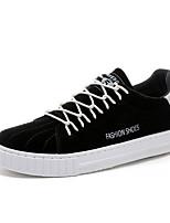Недорогие -Муж. Полиуретан Лето Удобная обувь Кеды Черный / Серый / Хаки