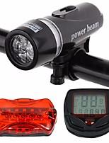 abordables -Lampe Avant de Vélo / Lampe Arrière de Vélo LED Cyclisme Portable / Imperméable / Résistant à la poussière Lithium-ion 400 lm Lumens Blanc Cyclisme