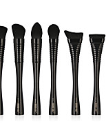 cheap -7 pcs Makeup Brushes Professional Blush Brush / Lip Brush / Eyeliner Brush Nylon fiber New Design / Professional / Full Coverage Plastic
