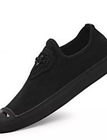 cheap -Men's Shoes Fabric Spring & Fall Light Soles Sneakers Black
