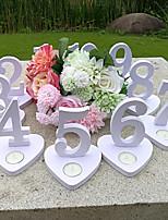 abordables -En bois boîte PVC Cérémonie Décoration - Mariage Mariage