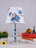 cheap -Traditional / Classic Decorative Table Lamp For Living Room / Bedroom Metal 220-240V Blue / White
