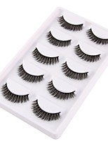 cheap -Eye 1 pcs Natural / Curly Daily Makeup Full Strip Lashes / Crisscross Make Up Professional / Portable Portable / Pro Daily / Date