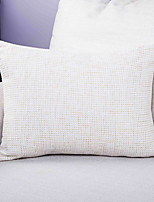 cheap -1 pcs Polyester Pillow Cover, Solid Colored Simple / Classic