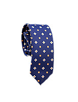 cheap -Men's Work / Basic Cotton / Polyester Necktie - Floral / Color Block / All Seasons