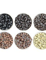 cheap -Aluminium Alloy 7005 Wig Caps / Clips Micro Rings / Loops Best Quality / New Arrival / Hot Sale 1000 pcs Extension Gift / Professioanl Use New / Fashion / Modern