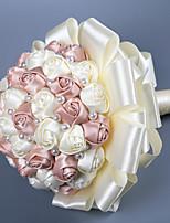 Недорогие -Свадебные цветы Букеты Свадьба Шелковый Как атласные / С бусинами / / 11-20 cm
