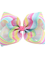 cheap -Decorations Hair Accessories Crystal / Cloth Demin Wigs Accessories Girls' 1pcs pcs 8 inch cm Daily / Daily Wear Stylish / Accent / Decorative Cute / Bowknot
