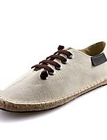 cheap -Men's Canvas Spring Comfort Sneakers White / Black / Blue