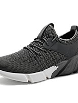 cheap -Men's PU(Polyurethane) / Elastic Fabric Summer Comfort Sneakers Black / Dark Grey / Blue