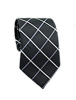 cheap -Men's Work / Basic Cotton / Polyester Necktie - Striped / Color Block / Check / All Seasons