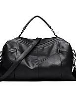 cheap -Women's Bags PU Leather Shoulder Bag Zipper Black / Purple / Wine