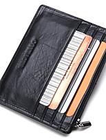 cheap -Unisex Bags Pigskin Wallet Zipper Black / Red