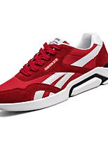 Недорогие -Муж. Полиуретан Лето Удобная обувь Кеды Серый / Красный / Черно-белый