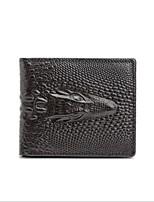 cheap -Men's Bags Cowhide Wallet Embossed Brown