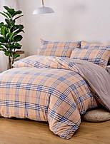 preiswerte -Bettbezug-Sets Stripes / Ripples Polyester Bedruckt 4 Stück