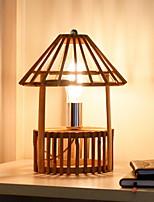 abordables -simple Design nouveau Lampe de Table Pour Salle de séjour Bois / Bambou 220-240V