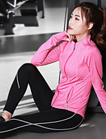 abordables -Femme Tenues de Yoga - Rose, Gris, gris foncé Des sports Ensemble de Vêtements Exercice & Fitness, Course / Running, Gymnastique Tenues