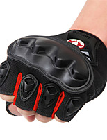 cheap -WOSAWE Half-finger Unisex Motorcycle Gloves PVC (Polyvinylchlorid) / Breathable Mesh / Polyester Fabric Breathable / Wearproof / Shockproof