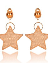 cheap -Women's Drop Earrings - Star Sweet, Fashion Gold For Evening Party / Street