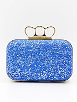 cheap -Women's Bags Alloy Evening Bag Crystals Blue / Silver