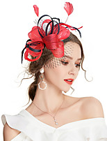 cheap -Women's Vintage / Elegant Hair Clip / Fascinator Bow / Mesh