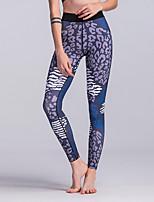 cheap -Women's Sporty Legging - Geometric High Waist