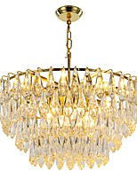 cheap -QIHengZhaoMing Crystal Chandelier Ambient Light 110-120V / 220-240V, Warm White, Bulb Included / 15-20㎡
