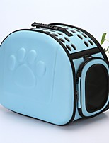 cheap -Dogs / Rabbits / Cats Carrier & Travel Backpack Pet Carrier Portable / Mini / Travel Solid Colored Blue / Pink / Black