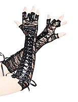 cheap -Dance Accessories Ultra Sexy Women's Performance Lace Lace / Lace-up Modern / Sexy Global Gals Sleeves