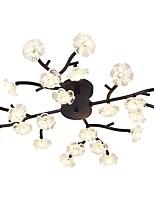 Недорогие -QIHengZhaoMing Монтаж заподлицо Рассеянное освещение 110-120Вольт / 220-240Вольт, Теплый белый, Лампочки включены