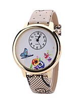 cheap -L.WEST Women's Wrist Watch Chinese Cute / Casual Watch PU Band Casual / Fashion White / Blue / Red