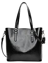 cheap -Women's Bags PU(Polyurethane) Shoulder Bag Pattern / Print Red / Gray / Brown