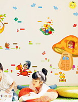 cheap -Decorative Wall Stickers - Plane Wall Stickers Shapes / Fairies Living Room / Bedroom