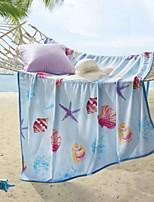 cheap -Coral fleece, Printed Print Polyester / Polyamide Blankets
