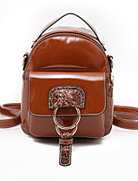 cheap -Women's Bags PU(Polyurethane) Backpack Lace Black / Blushing Pink / Wine