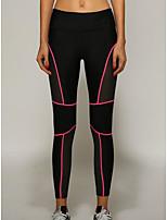 cheap -Women's Daily Basic Legging - Striped Mid Waist
